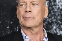 """Actor Bruce Willis attends the premiere of """"Glass"""" at the SVA Theatre on Tuesday, Jan. 15, 2019, in New York. (Photo by Evan Agostini/Invision/AP)"""