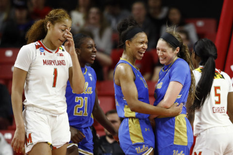 Maryland falls to UCLA 85-80 in 2nd round of NCAA Tournament