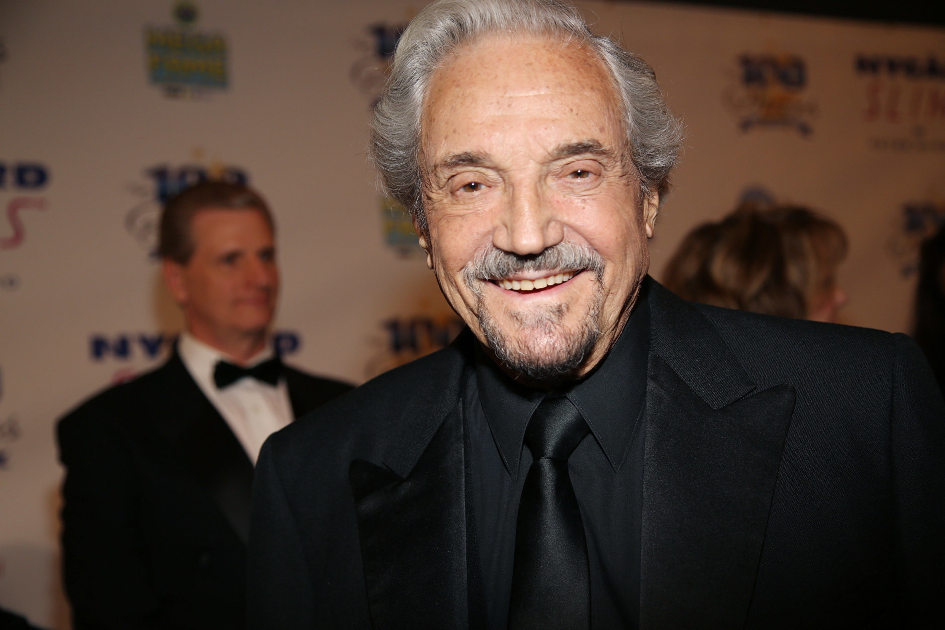 Hal Linden arrives at the 24th Night of 100 Stars Oscars Viewing Gala at The Beverly Hills Hotel on Sunday, March 2, 2014 in Beverly Hills, Calif. (Photo by Annie I. Bang /Invision/AP)