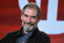 """Timothy Dalton participates in the """"Penny Dreadful"""" panel at the CBS/Showtime 2015 Winter TCA on Monday, Jan. 12, 2015, in Pasadena, Calif. (Photo by Richard Shotwell/Invision/AP)"""
