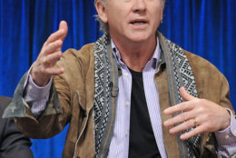 Photo of Patrick Duffy courtesy of Samsung Galaxy, taken during the Paley Center for Media's PaleyFest, honoring Dallas at the Saban Theatre, Sunday March 10, 2013 in Los Angeles, California. (Photo by Kevin Parry/Invision/AP)