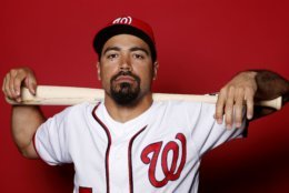 WEST PALM BEACH, FLORIDA - FEBRUARY 22:  Anthony Rendon #6 of the Washington Nationals poses for a portrait on Photo Day at FITTEAM Ballpark of The Palm Beaches during on February 22, 2019 in West Palm Beach, Florida. (Photo by Michael Reaves/Getty Images)