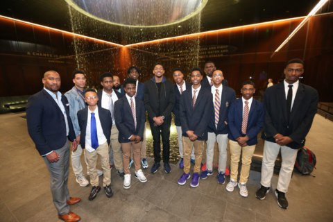 Amid career year, Bradley Beal leaves bigger legacy with DC students