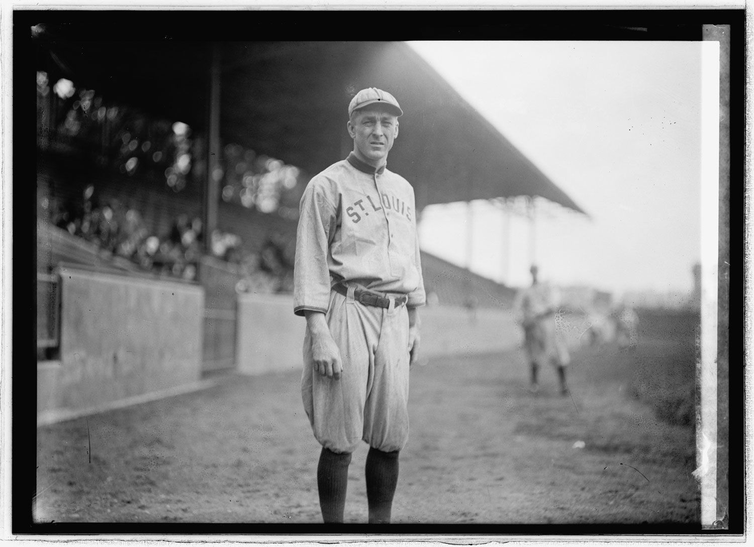 A shot of Branch Rickey from his playing days for the St. Louis Browns. (Library of Congress/National Photo Company Collection)