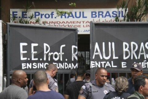 School rampage in Brazil leaves 8 dead, many wounded