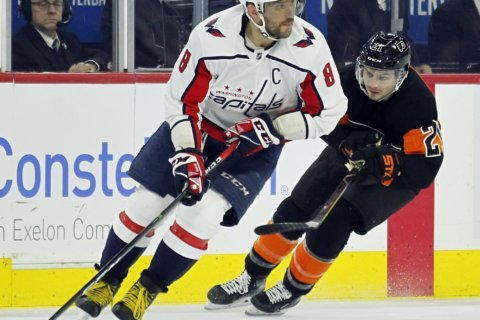 Capitals look to maintain prowess over Flyers