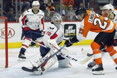Preview: Caps face off against Philadelphia Flyers Sunday