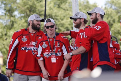 Capitals accept differences of opinion on White House visit