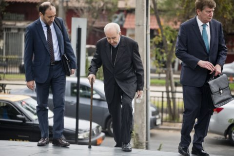 Chilean cardinal goes before prosecutors in sex abuse probe