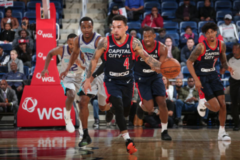 Before they Go-Go: Last chance to see Wizards' G League team this year