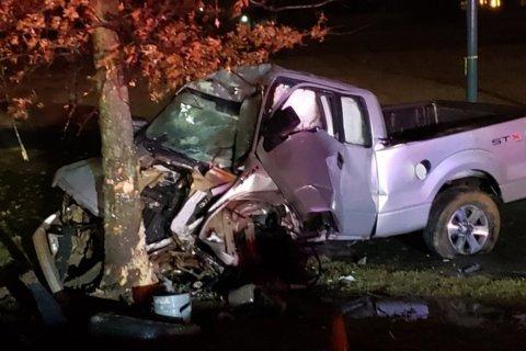 Man dead in Rockville single-vehicle collision