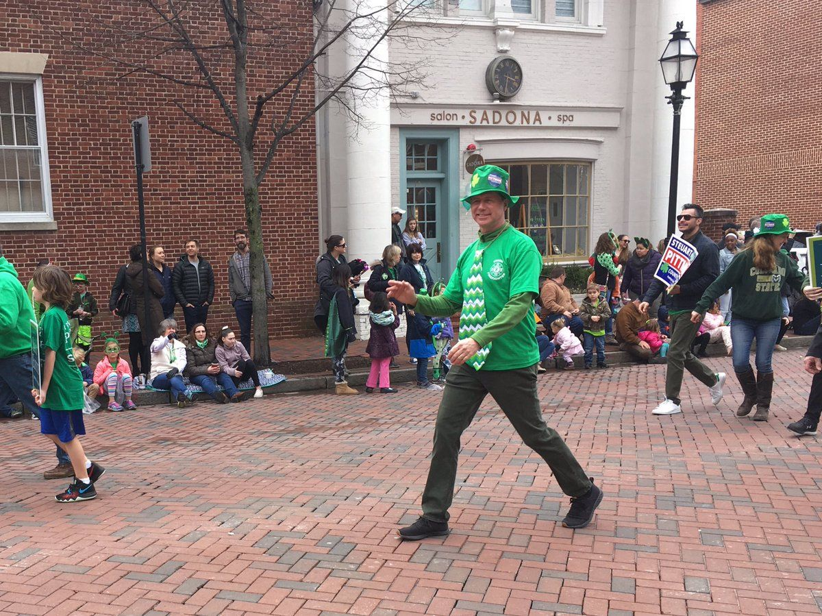 Local leaders also took part, including Anne Arundel County Executive Steuart Pittman. (WTOP/Liz Anderson)