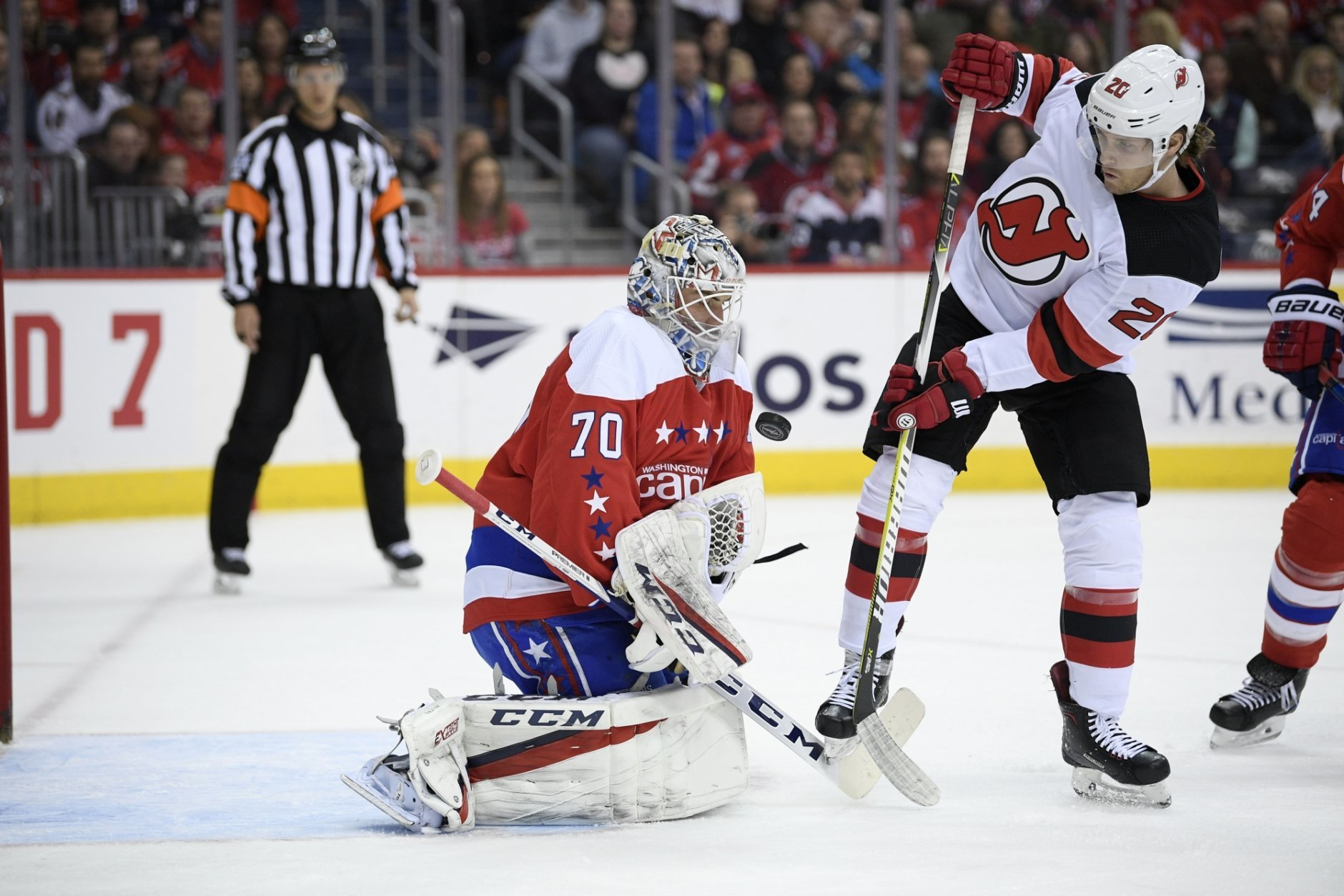 big sale 93abf cc57d Caps take down ailing New Jersey Devils 3-0 | WTOP
