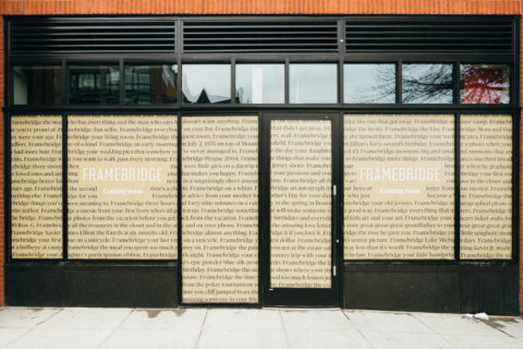 DC startup Framebridge opens first storefront on 14th Street