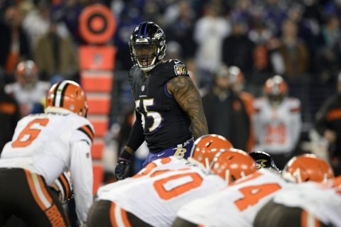 AP Sources: Suggs not returning to Ravens in 2019