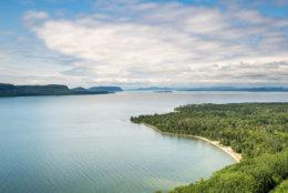 Lake Superior Provincial Park Ontario Canada Rugged Rocky North Shore