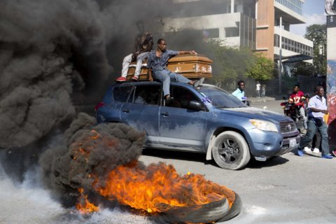 Haiti opposition calls new protests in bid to oust president