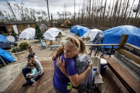 'It's pure hell': Hurricane Michael leaves housing crisis