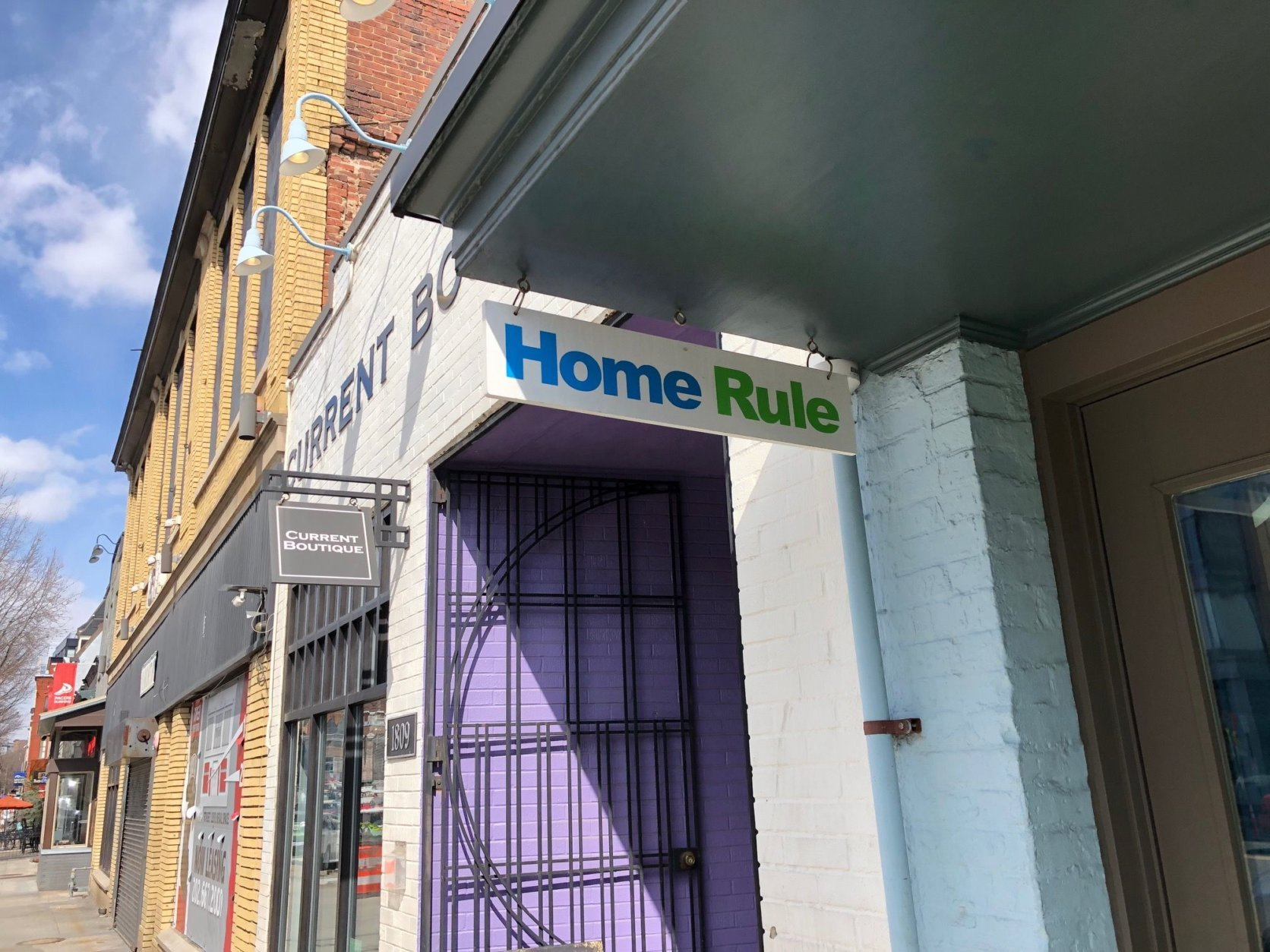 Home Rule opened in 1999 on 14th Street— several years before the neighborhood's revitalization. At the end of March, the home goods shop is closing. (WTOP/Rachel Nania)