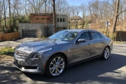 The Cadillac CT6 Platinum offers a fun-to-drive, large car that won't be lost in the crowd. (WTOP/Mike Parris)