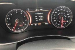 Simple easy to read gauges of the Genesis G70. (WTOP/Mike Parris)
