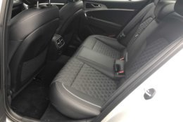 Rear seats can be tight for taller riders.(WTOP/Mike Parris)