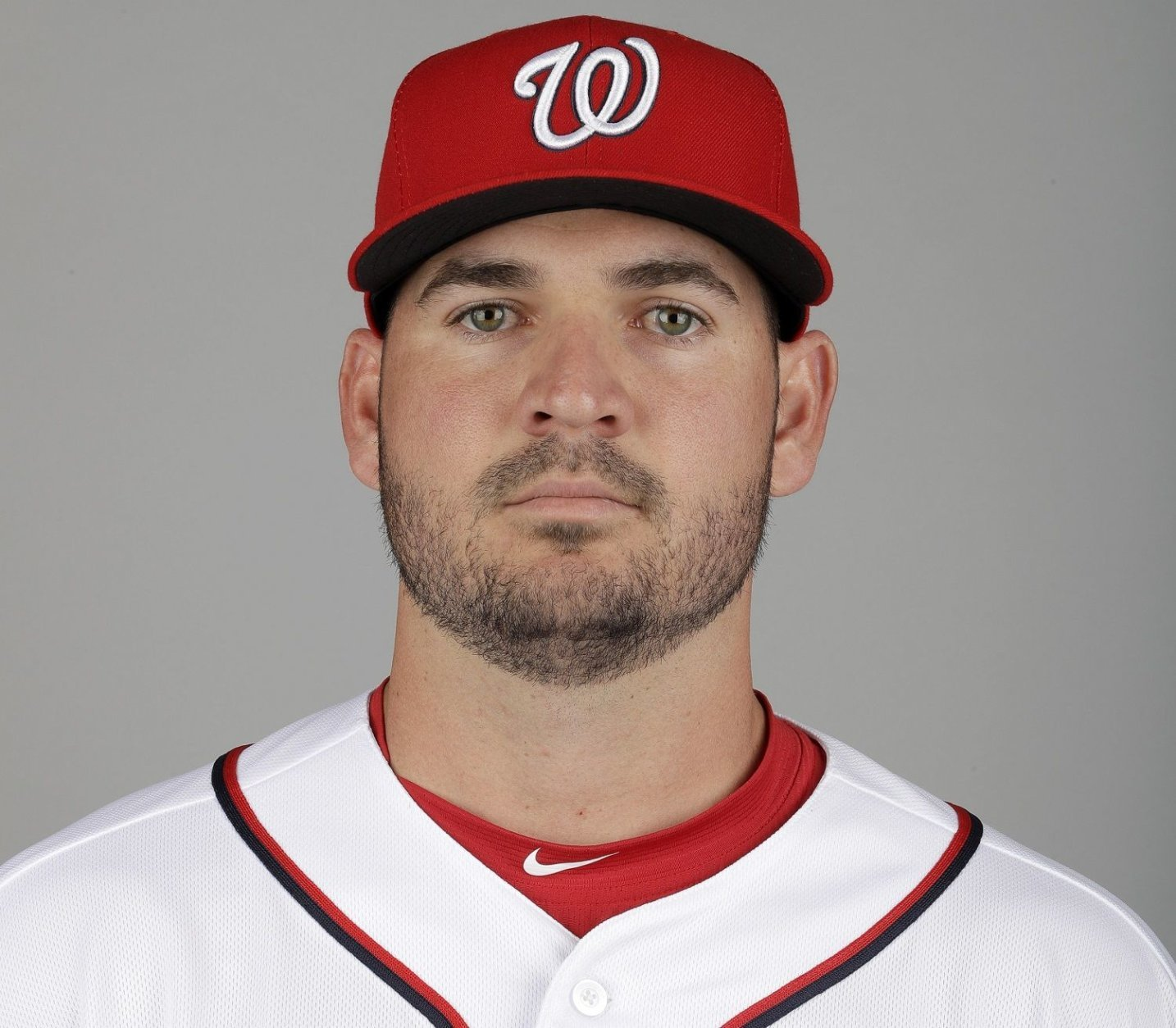 This is a 2019 photo of Jake Noll of the Washington Nationals baseball team. This image reflects the 2019 active roster as of Friday, Feb. 22, 2019, when this image was taken. (AP Photo/Jeff Roberson)