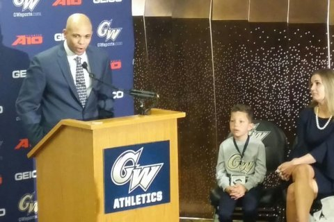 Jamion Christian 'fired up' to be new head coach at GW