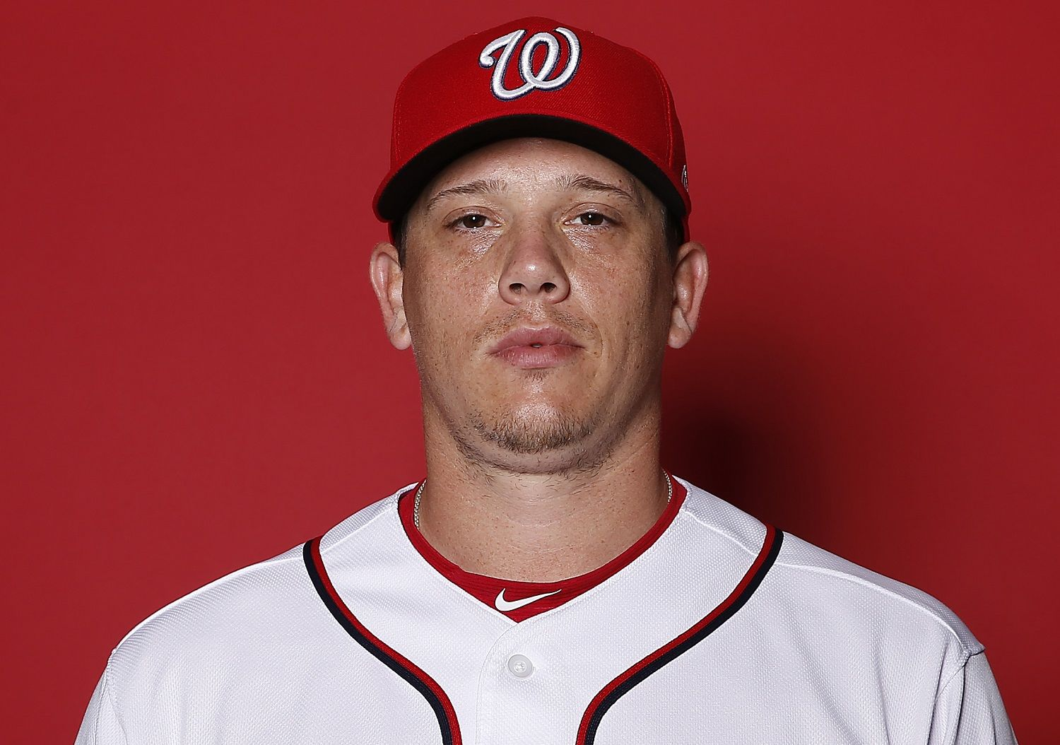 WEST PALM BEACH, FLORIDA - FEBRUARY 22:  Jeremy Hellickson #58 of the Washington Nationals poses for a portrait on Photo Day at FITTEAM Ballpark of The Palm Beaches during on February 22, 2019 in West Palm Beach, Florida. (Photo by Michael Reaves/Getty Images)