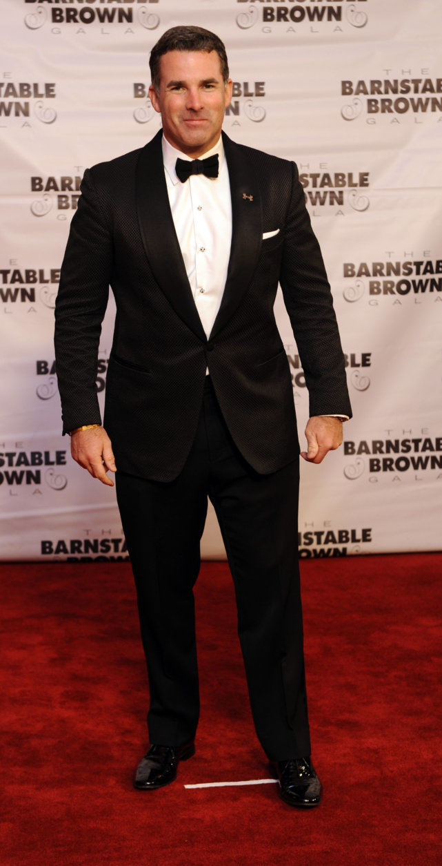 Kevin Plank arrives at the 2015 Barnstable Brown Gala at Patricia Barnstable Brown's Mansion on Friday, May 1, 2015, in Louisville, Ky. (Photo by Joe Imel/Invision/AP)