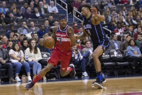 Washington Wizards hanging around in battle for 8th seed