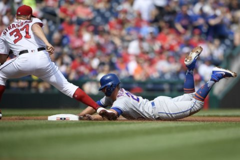 New-Look Mets 2-0 after Alonso, other kids beat Nats 11-8