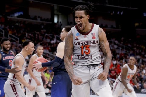 Virginia Tech beats Liberty to earn a 2nd trip to Sweet 16