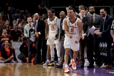 Virginia Tech beats Liberty to advance to first Sweet 16 in 52 years