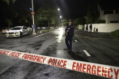 Mosque shooter brandished white supremacist iconography