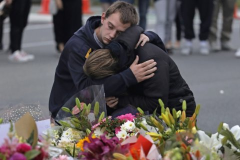 AP Photos: Heartbroken New Zealanders mourn mass shooting