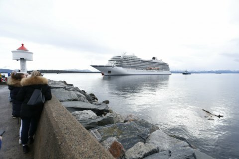 Viking Cruises ship docks safely in Norway after major rescue efforts