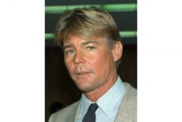"FILE - This September 1986 file photo shows actor Jan-Michael Vincent. Vincent, known for starring in the television series ""Airwolf,"" died Feb. 10, 2019. He was 73. (AP Photo/Nick Ut, File)"
