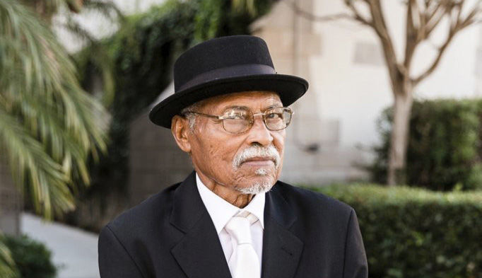 "This image provided by one of his sons via Sarah Mack Photo shows actor Nathaniel Taylor, who played the role of Rollo Dawson in the hit 1970s sitcom ""Sanford and Son."" Taylor died Wednesday, Feb. 27, 2019, in Los Angeles, at the age of 80. (Sarah Mack Photo via AP)"