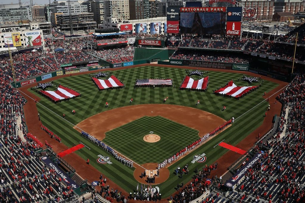 Guide to opening day at Nationals Park   WTOP