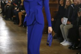 e3d8b590 Paris_Fashion_2019_F_W_Saab_34999 A model wears a creation as part of the  Elie Saab ready to wear Fall-Winter 2019-2020 collection, that was  presented in ...