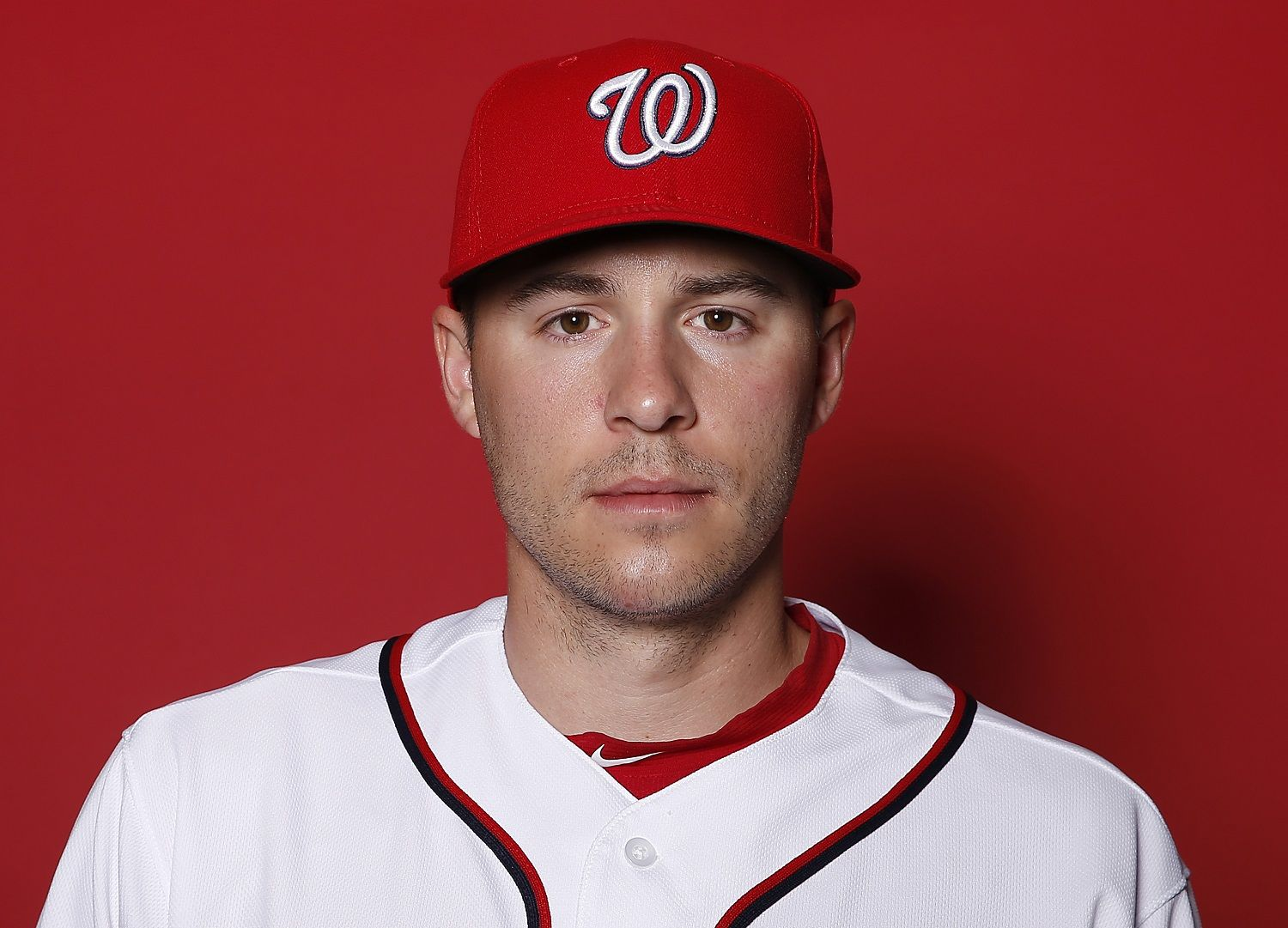 WEST PALM BEACH, FLORIDA - FEBRUARY 22:  Patrick Corbin #46 of the Washington Nationals poses for a portrait on Photo Day at FITTEAM Ballpark of The Palm Beaches during on February 22, 2019 in West Palm Beach, Florida. (Photo by Michael Reaves/Getty Images)