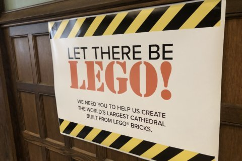LEGO replica of DC cathedral raises funds for 2011 earthquake damage repairs
