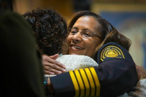 Residents ask what led to resignation of black police chief