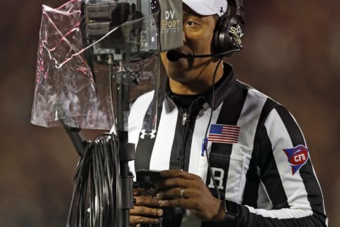 NCAA: Replay official can overturn close targeting calls