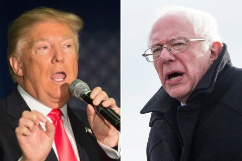 The Trump-Bernie voters from 2016 are nearly non-existent now