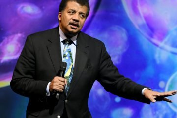 Neil deGrasse Tyson is facing backlash after tweeting about shooting deaths