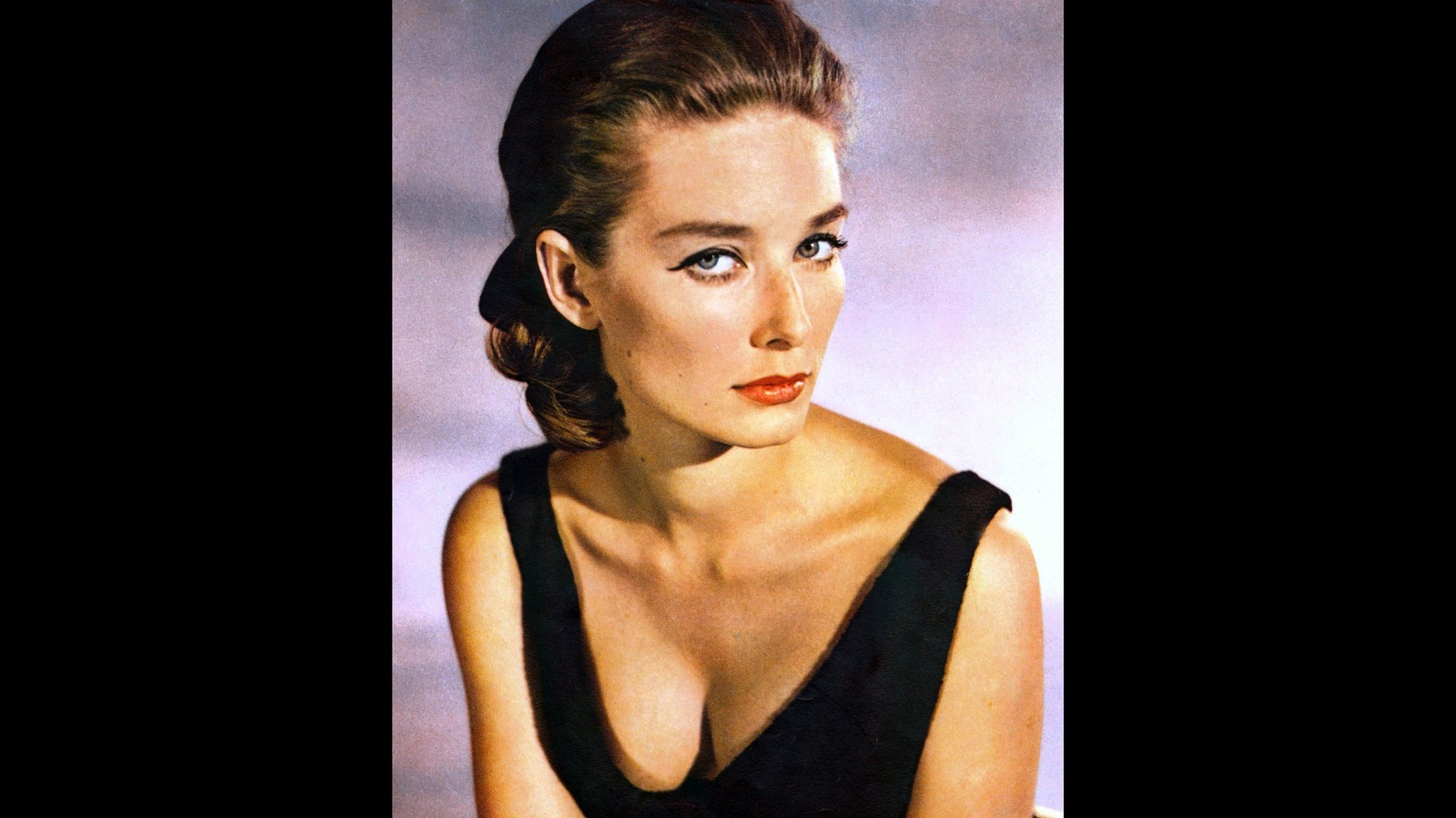 Actress Tania Mallet played Tilly Masterson in 'Goldfinger' in 1964.
