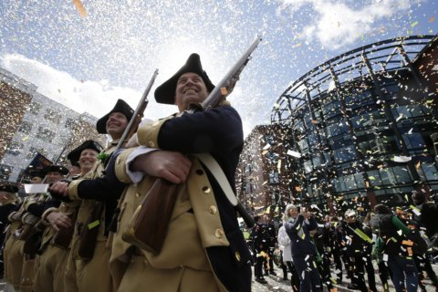 Thousands turn out for St. Patrick's Day parade in Boston