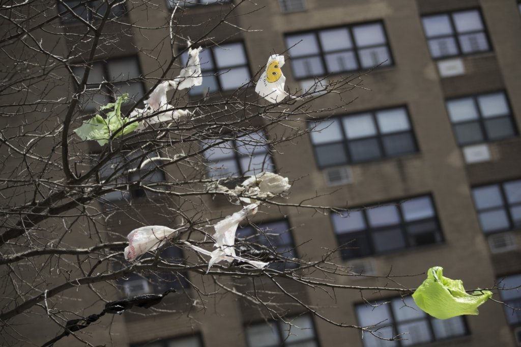 Manhattan Tolls Plastic Bag Ban Poised For Approval In NY
